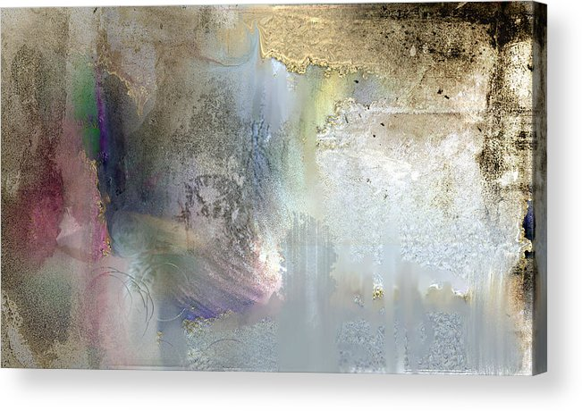Acrylic Print featuring the digital art Discovering Places by Davina Nicholas