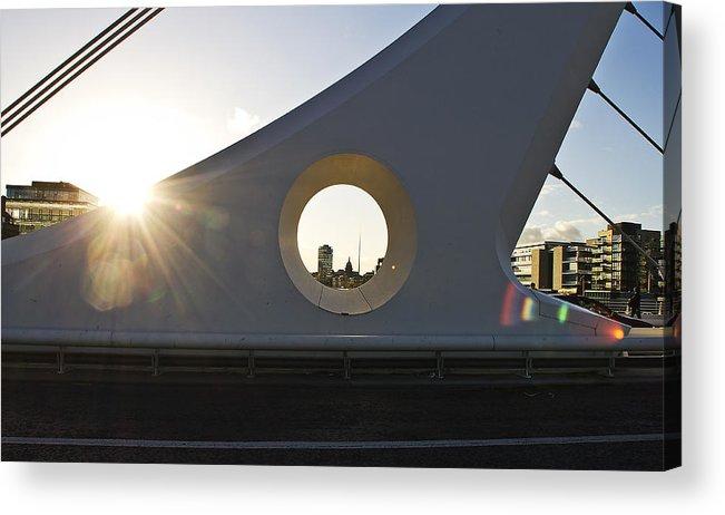 Dublin Acrylic Print featuring the photograph Dublin by Alex Art and Photo