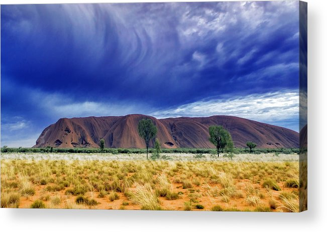 Landscapes Acrylic Print featuring the photograph Thunder Rock by Holly Kempe