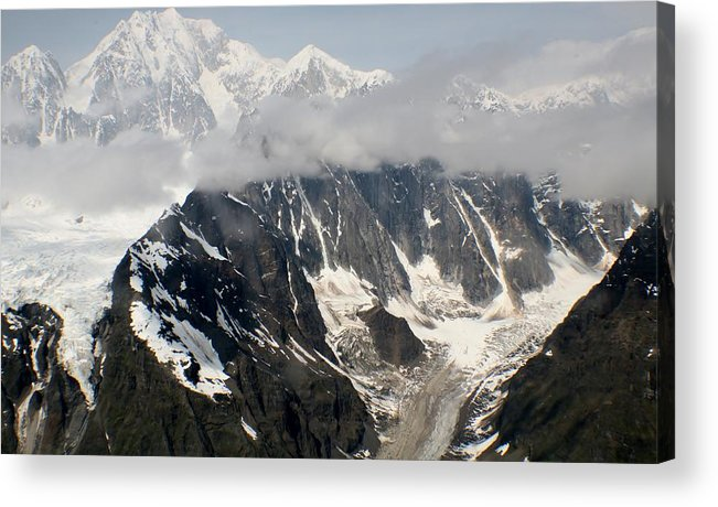 Mt. Mckinley Acrylic Print featuring the photograph Mt. Mckinley by Keri Thibeau
