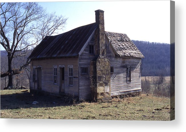 Acrylic Print featuring the photograph Old House by Curtis J Neeley Jr