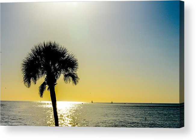 Sunset Acrylic Print featuring the photograph Peaceful by Amanda Liner