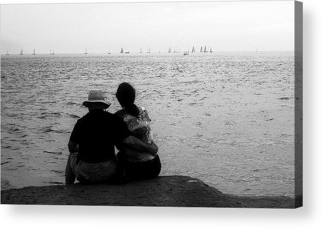 Friend Acrylic Print featuring the photograph Sweet by Julie Lueders