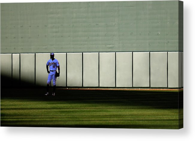 Ninth Inning Acrylic Print featuring the photograph Boston Red Sox V Baltimore Orioles 10 by Rob Carr