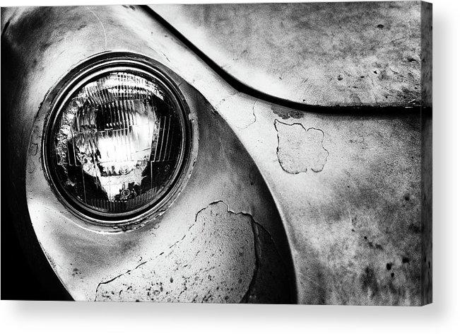 Car Acrylic Print featuring the photograph Dead Alfa R. by J?rgen Hartlieb