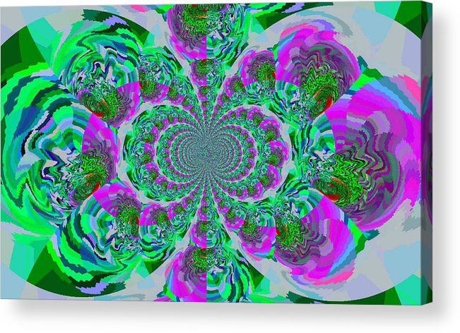 Art Photo Acrylic Print featuring the photograph Kalidiscope by Robin Bloom