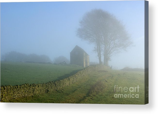 Mist Acrylic Print featuring the photograph Matlock Mist by David Birchall