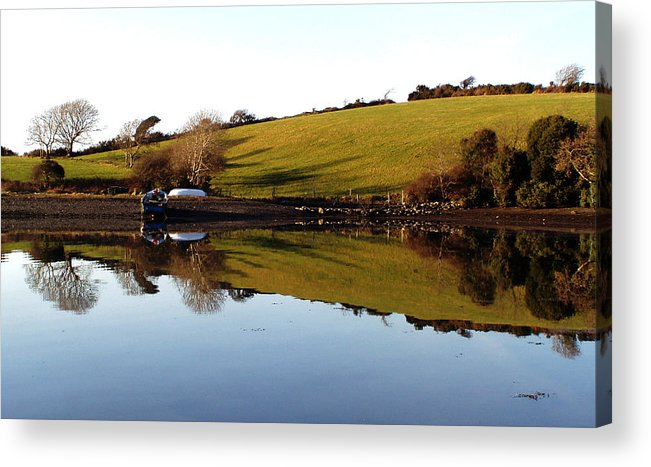 Sea Acrylic Print featuring the photograph Reflections by Phil Darby