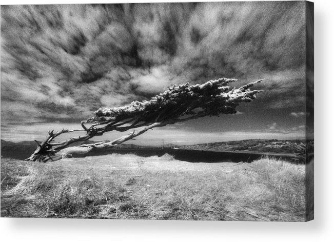 Film Acrylic Print featuring the photograph Stormy Promise by Daniel Furon