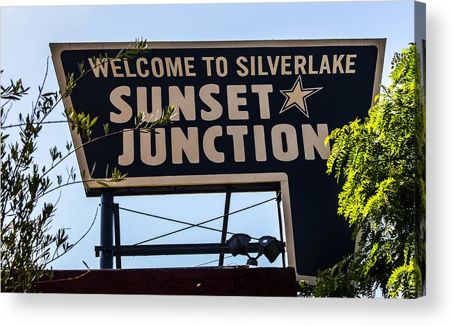 Route 66 Acrylic Print featuring the photograph Sunset Junction by Angus Hooper Iii