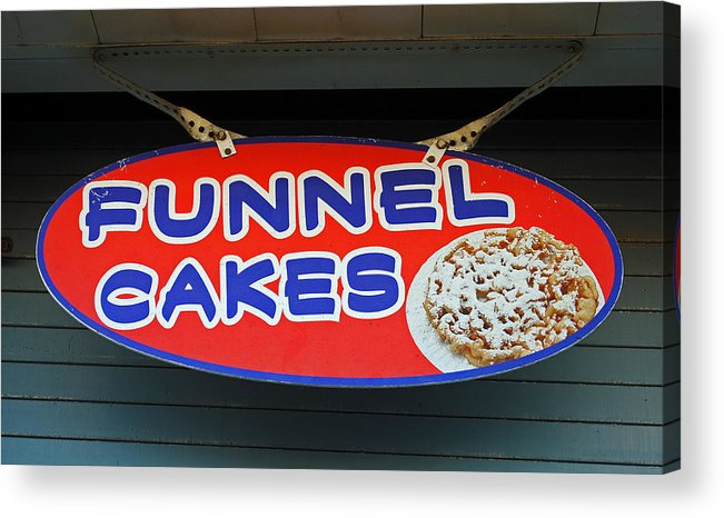 Fair Acrylic Print featuring the photograph Funnel Cakes by Skip Willits