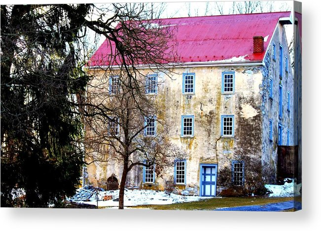 Home Acrylic Print featuring the photograph Home by Noel Christman