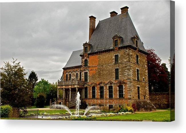 France Acrylic Print featuring the photograph Tres Francais by Eric Tressler