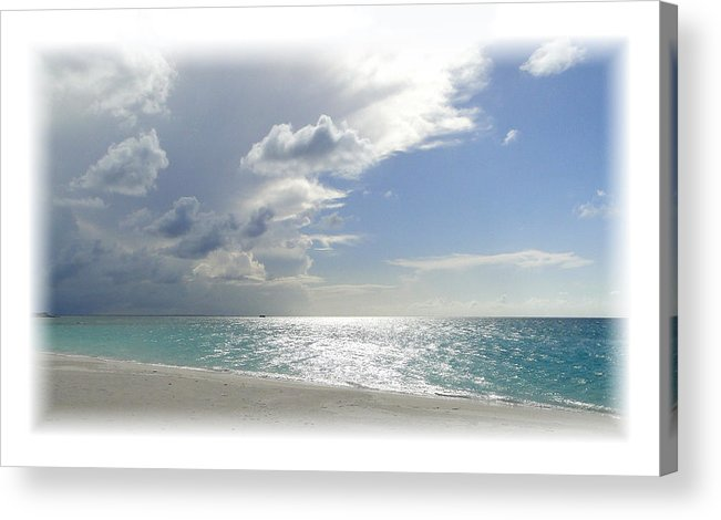 Beach Acrylic Print featuring the photograph Turks 7 by Allan Rothman