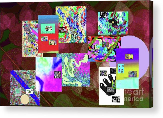 Walter Paul Bebirian Acrylic Print featuring the digital art 7-5-2015dabcdef by Walter Paul Bebirian