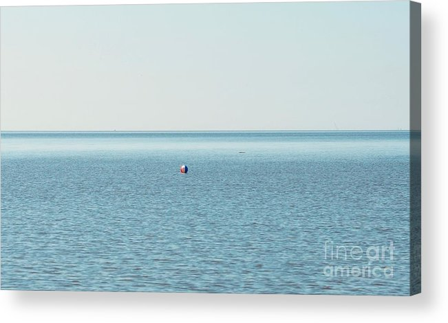 Beachball Acrylic Print featuring the photograph Adrift by Christina McKinney