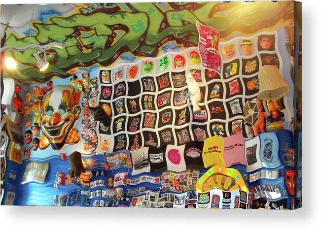 Big Fun Acrylic Print featuring the photograph Big Fun Cleveland 1 by Anne Cameron Cutri