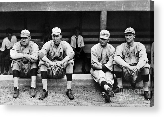 1916 Acrylic Print featuring the photograph Boston Red Sox, C1916 by Granger