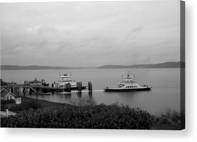Nature Acrylic Print featuring the photograph Ferry by Ty Nichols