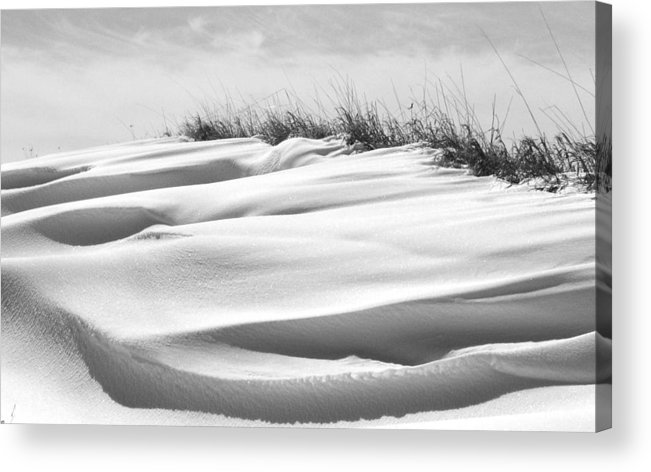 Indiana Acrylic Print featuring the photograph Indiana Snow by Michael L Kimble