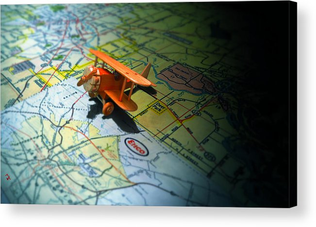 Toy Acrylic Print featuring the photograph Let's Take A Trip by Adam Vance