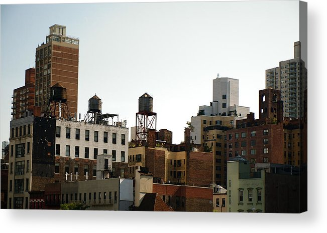 Love It Acrylic Print featuring the photograph NYC by Kareem Farooq