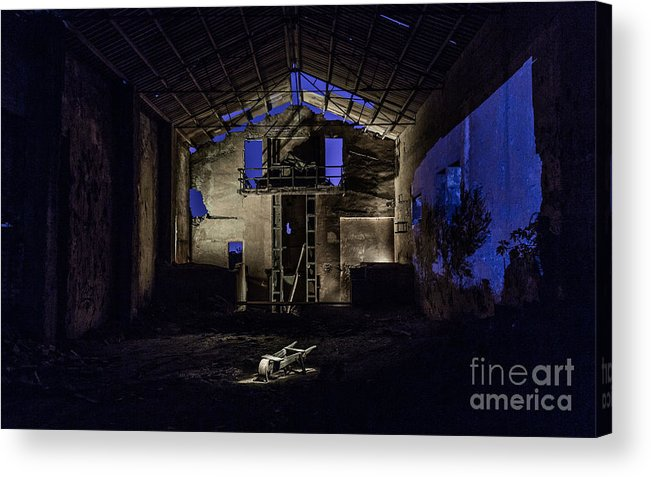 Acrylic Print featuring the photograph Blue by Eugenio Moya
