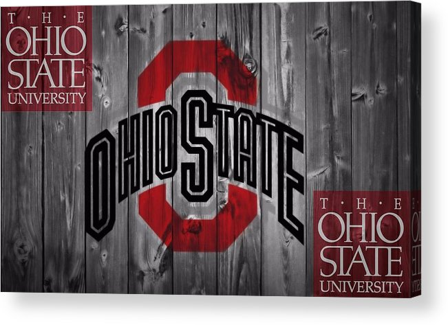 Ohio State University Acrylic Print featuring the photograph Ohio State Buckeyes by Dan Sproul