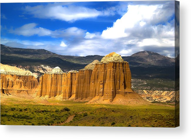 Capitol Reef National Acrylic Print featuring the photograph Capitol Reef National Park Cathedral Valley by Mark Smith