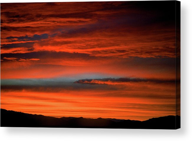 America Acrylic Print featuring the photograph Nevada Skies by Frank Romeo
