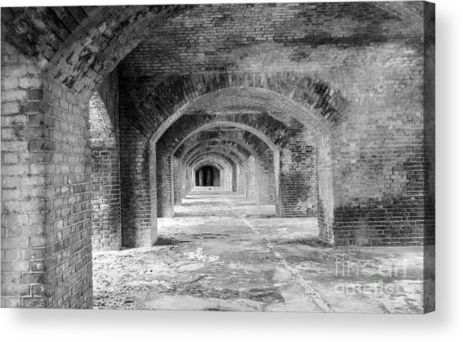Buildings Acrylic Print featuring the photograph A Step Back In Time by Mary Haber
