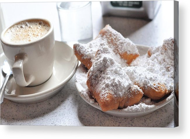 Cafe Du Monde Acrylic Print featuring the photograph Cafe Du Monde by Steve Archbold