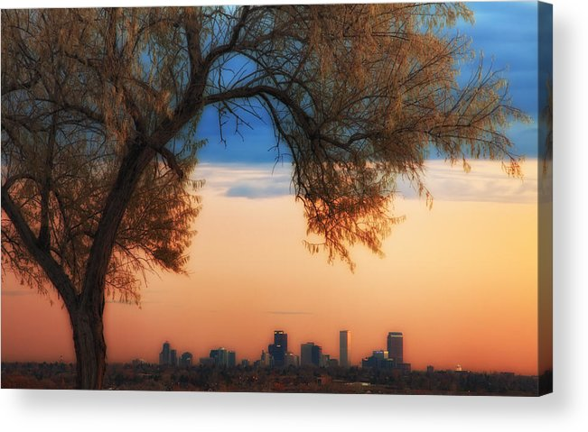 Denver Acrylic Print featuring the photograph Good Morning Denver by Darren White