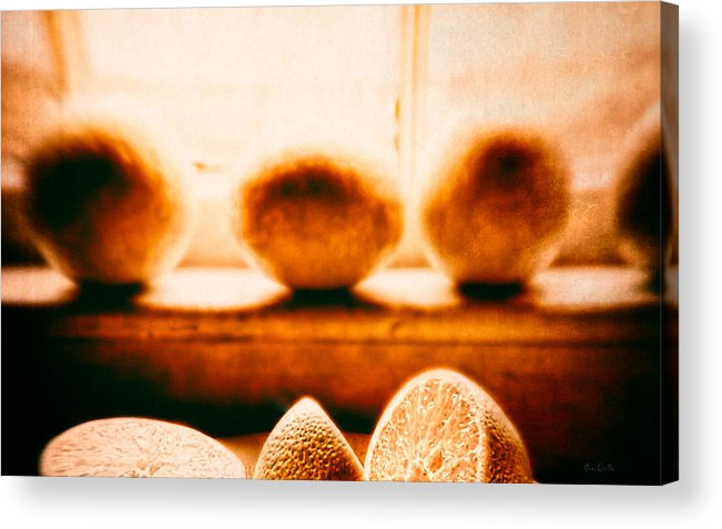 Lemon Acrylic Print featuring the photograph Lemon Among Oranges by Bob Orsillo