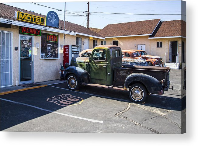 Route 66 Acrylic Print featuring the photograph Studebaker by Angus Hooper Iii