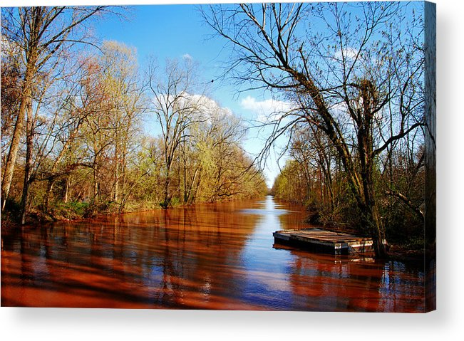 'somerset Acrylic Print featuring the photograph Trail by Maneesh Chandran