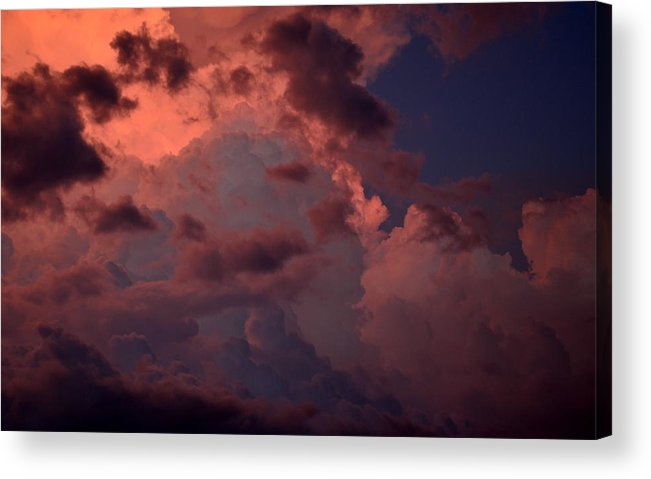 Art Acrylic Print featuring the photograph Edge Of The Storm by Jeremy Smith