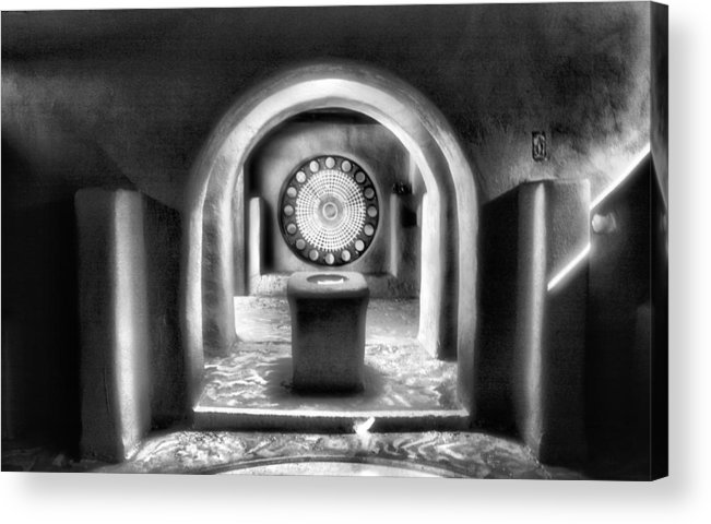 Church Acrylic Print featuring the photograph Inner Light by Steven Ainsworth