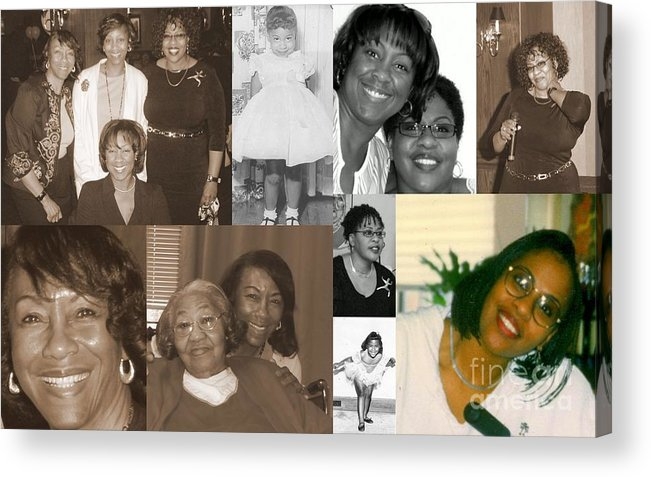 Acrylic Print featuring the photograph Madge's Daughters by Angela L Walker