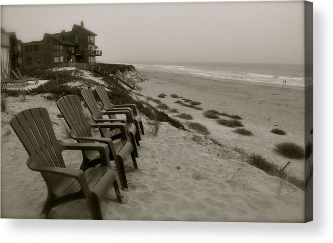 Pajaro Dunes Acrylic Print featuring the photograph Pajaro Dunes At Dusk by Suzanne Smith