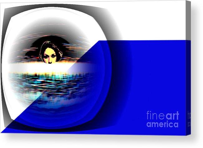 Blue Acrylic Print featuring the photograph Subconcious Mind by Vicki Lynn Sodora
