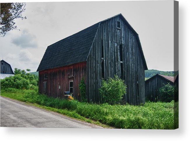 Barn Acrylic Print featuring the photograph Wyoming County 5673c by Guy Whiteley