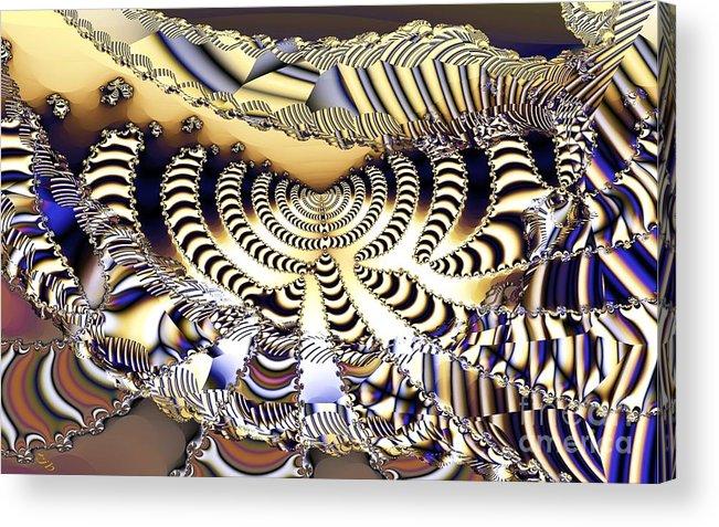 Catwalk Acrylic Print featuring the digital art Catwalk by Ron Bissett