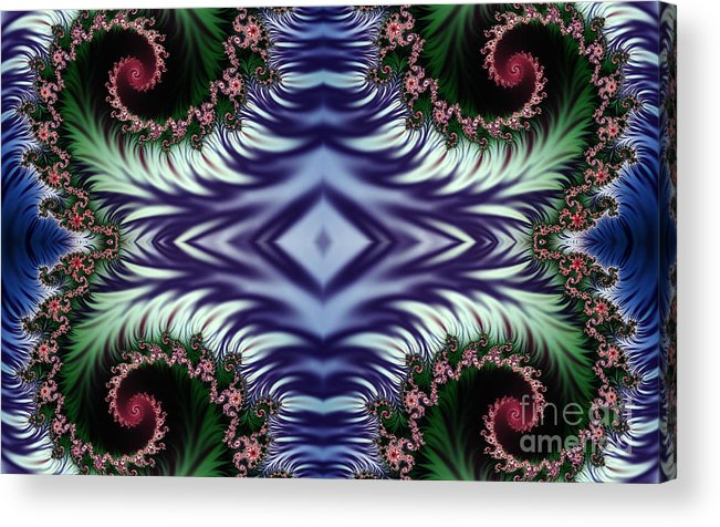 Clay Acrylic Print featuring the digital art Diamonds Are Forever by Clayton Bruster