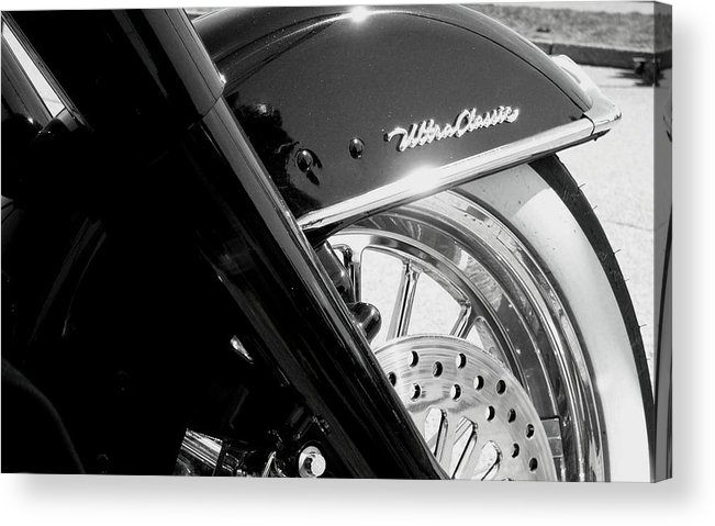Harley Acrylic Print featuring the photograph Ultra Classic by Kevin D Davis