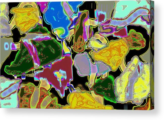 Jgyoungmd Acrylic Print featuring the digital art 91017c by Jgyoungmd Aka John G Young MD