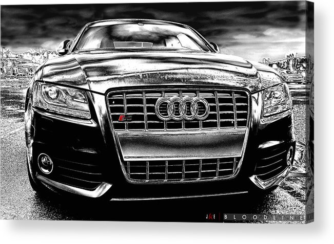 Audi Acrylic Print featuring the photograph Bloodline by Jonathan Ellis Keys