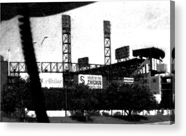 Chicago Acrylic Print featuring the photograph Chicago by Michelle Hoffmann