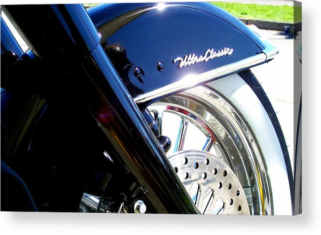 Harley Acrylic Print featuring the photograph Classic by Kevin D Davis