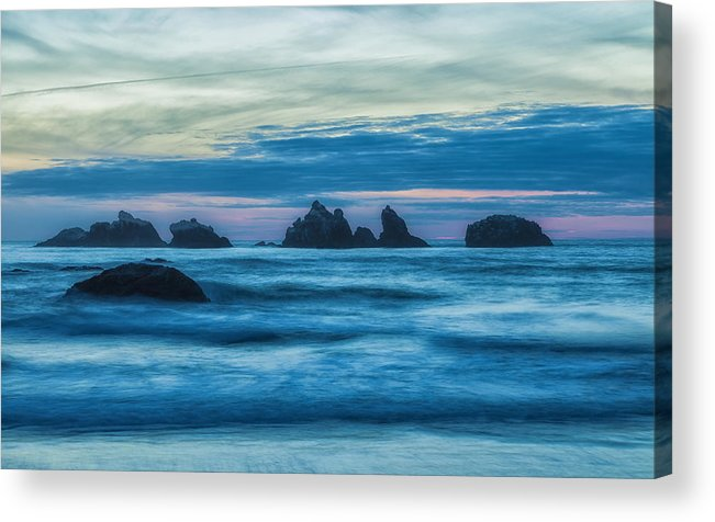 Landscape Acrylic Print featuring the photograph Enter The Dragon by Jonathan Nguyen